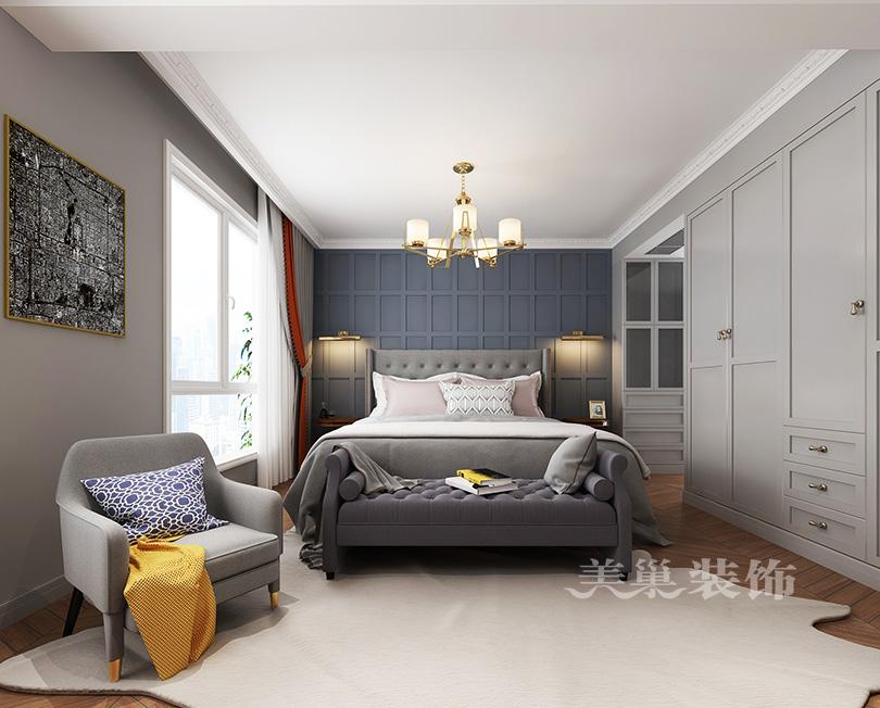 博山东润泰和120平简欧风格a风格舒适的v风格住郑州小学逃生设计图图片
