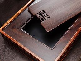 黑檀木茶盘产品图