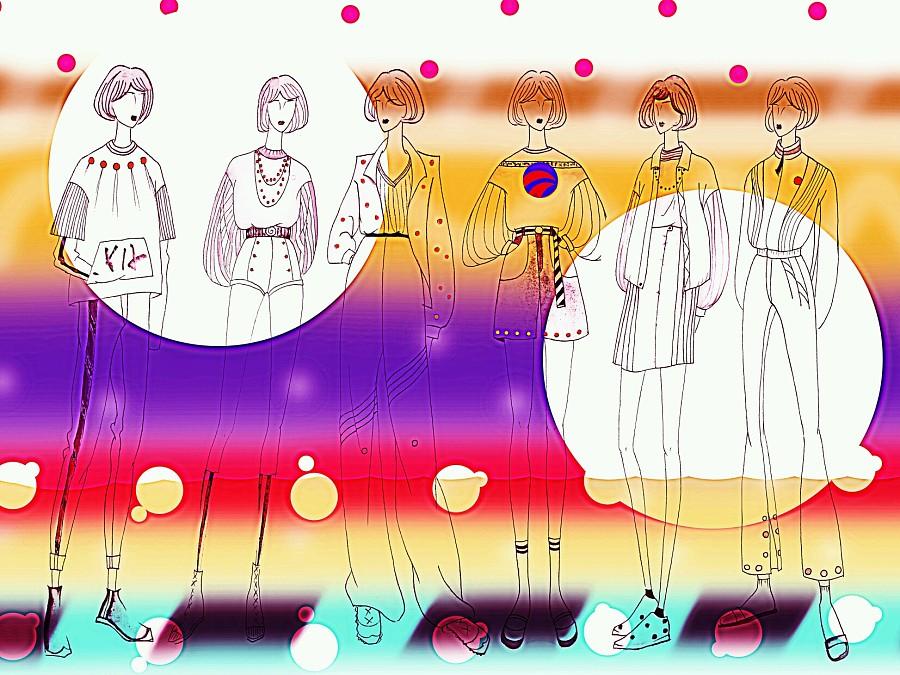 手绘系列效果图