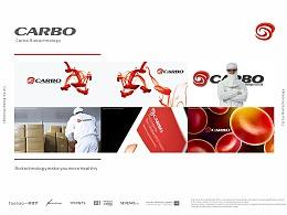 南京卡博生物CARBO品牌定位VIS形象识别系统-上海因心