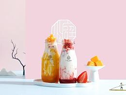 小庭找茶-古风饮品摄影-中国风奶茶摄影