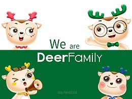 吉祥物deer