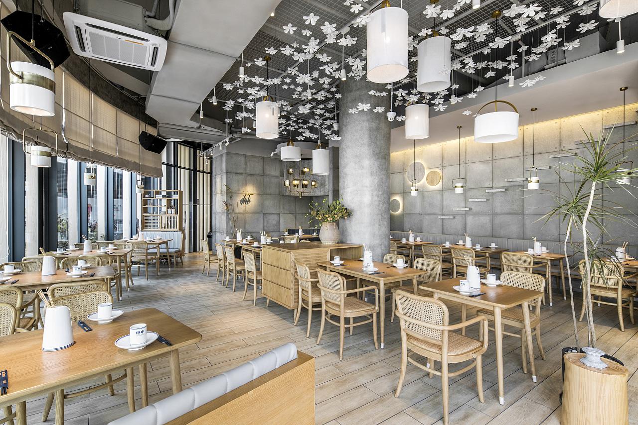 正餐店 · 餐饮空间设计_卅卅红油串串深圳欢乐海岸店