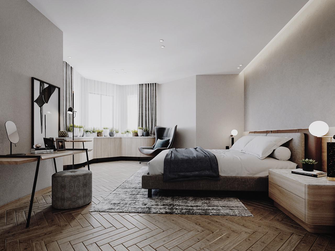 室内装潢设计师证_现代家装 空间 室内设计 Max点意 - 原创作品 - 站酷 (ZCOOL)
