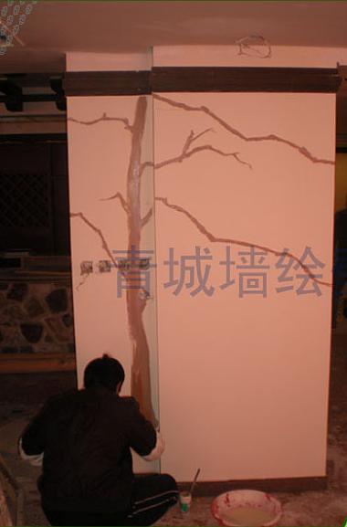 潍坊手绘墙/潍坊青城手绘墙作品