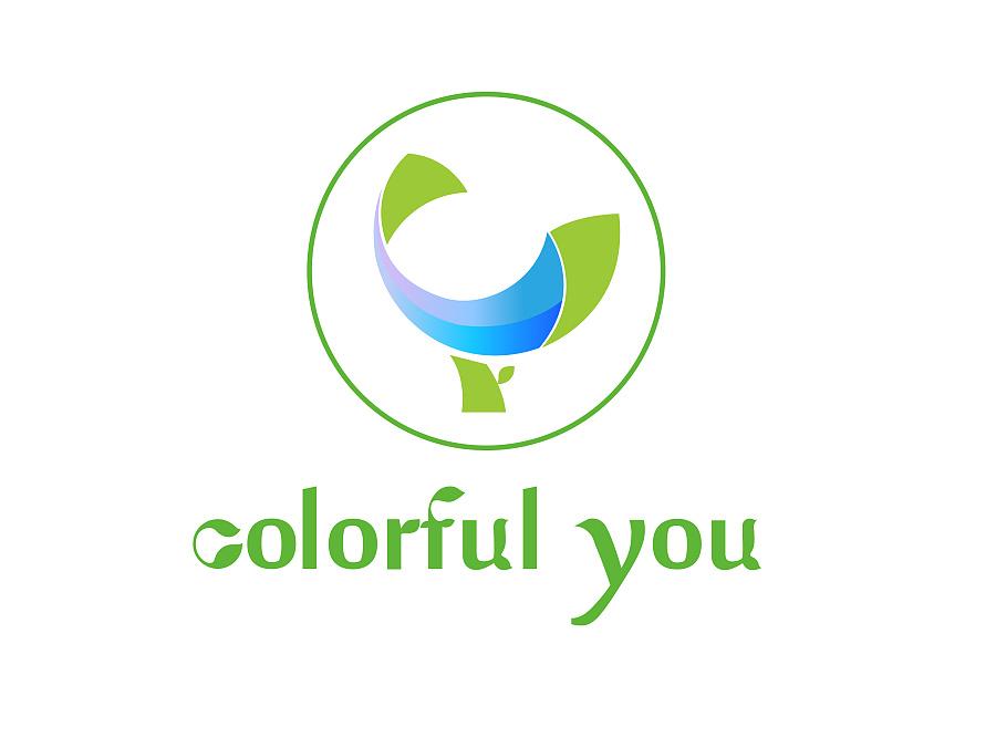 colorful you logo设计