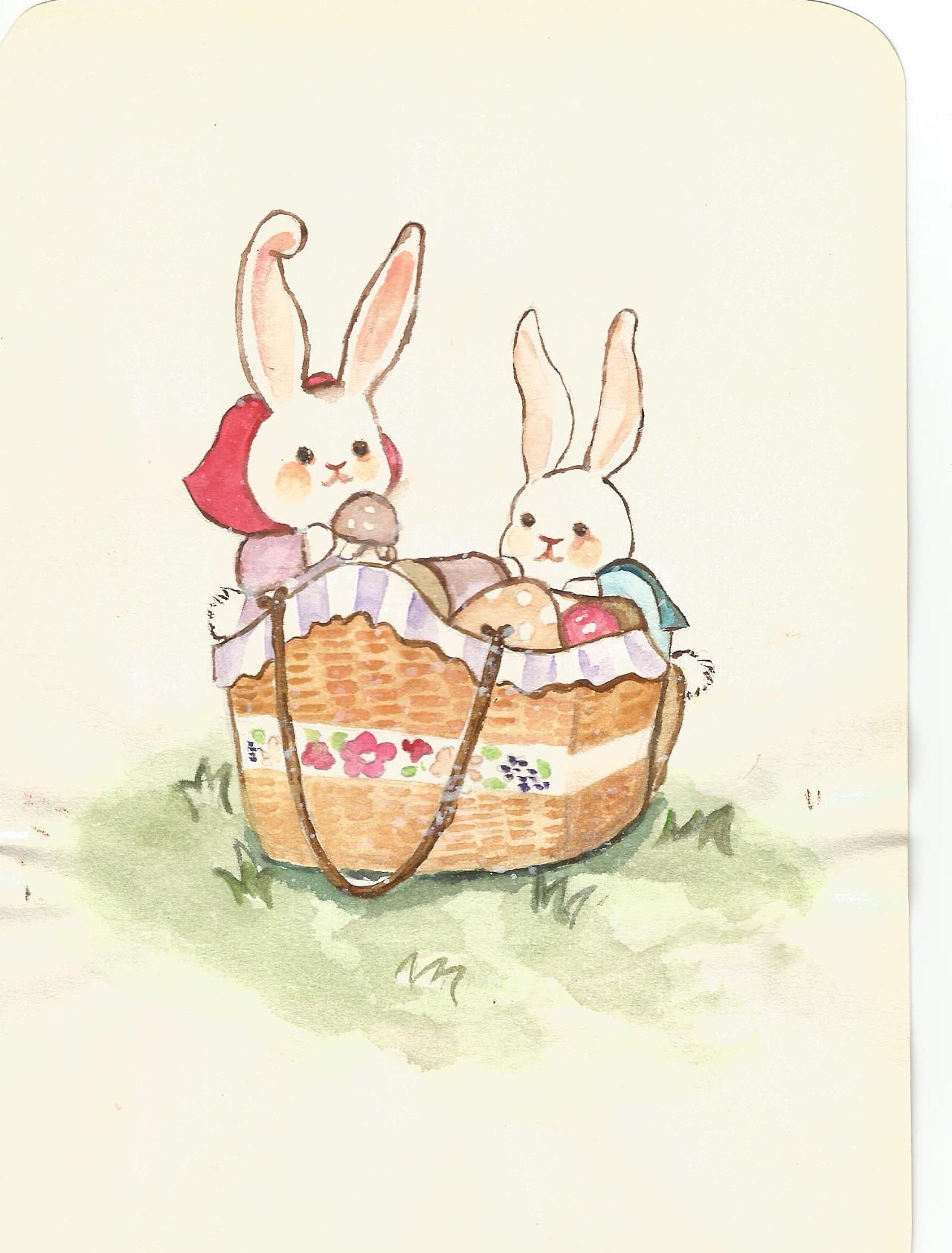 森系女孩-萌兔子