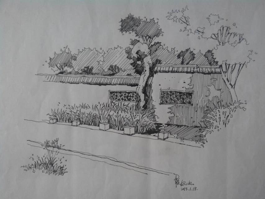 手绘学习萌版人物铅笔画