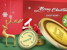 阿里巴巴国际站banner-Christmas