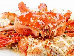 极简美食拍摄-清蒸帝王蟹