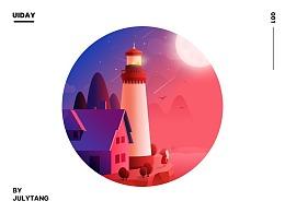 关于微光、关于邮票、关于插画、关于界面的设计
