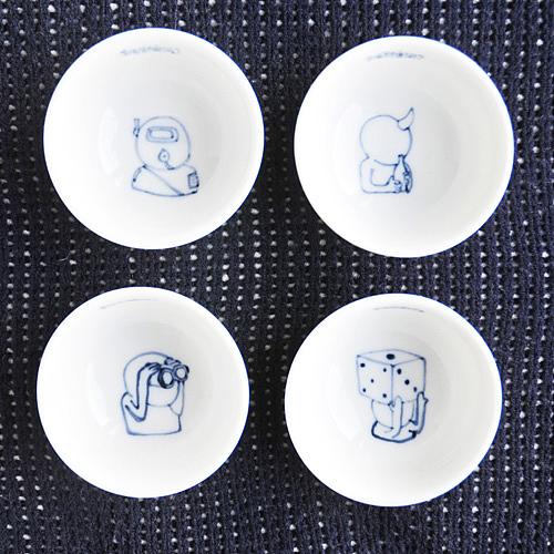 生活钥匙 限量手绘小茶杯 工业/产品 生活用品 米念