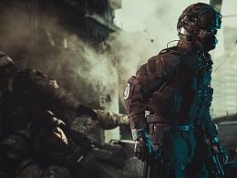 【低成本拍摄技巧】显示器当背景,兵人还可以这样拍