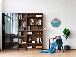比邻书柜 原创家具设计