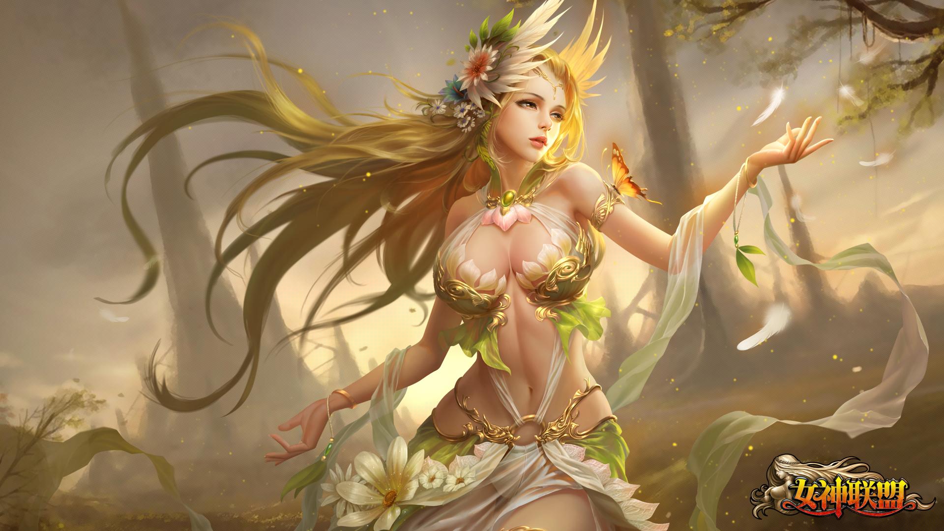 女神联盟2游戏里怎么看人物原画 人物原画在哪查看