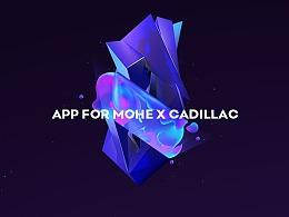 App for MOHE X Cadillac