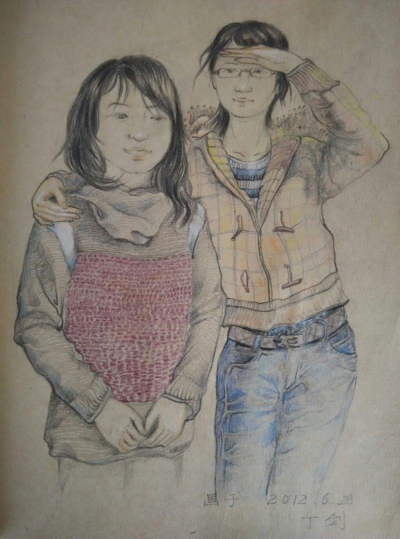 彩铅——人物画