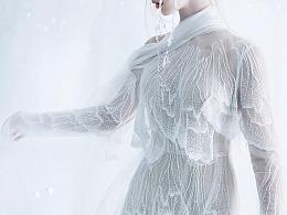 羽|婚纱设计师兰奕2019雪与樱