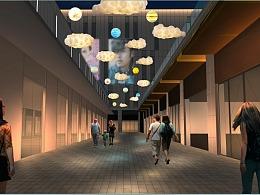 户外街区亮化设计方案 铭星定制工厂专注灯光美陈厂家