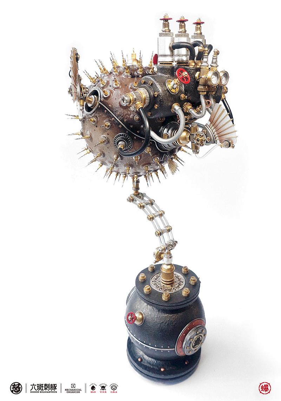 查看《愤怒的毒物 —— 机械小刺鲀!》原图,原图尺寸:800x1142