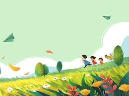 《孩子眼中的二十四节气》童诗绘本节选