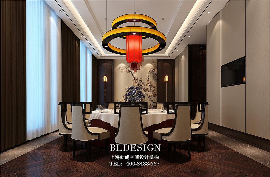中餐厅设计-中式餐厅设计餐厅-新中式视频设计名片设计教程方案图片