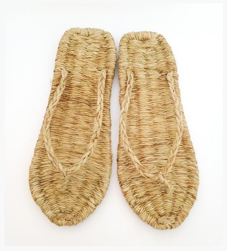 纯手工编织草鞋—全麻材质