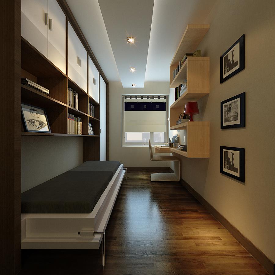 港式家装|室内设计|空间|red绵绵 - 原创设计作品图片