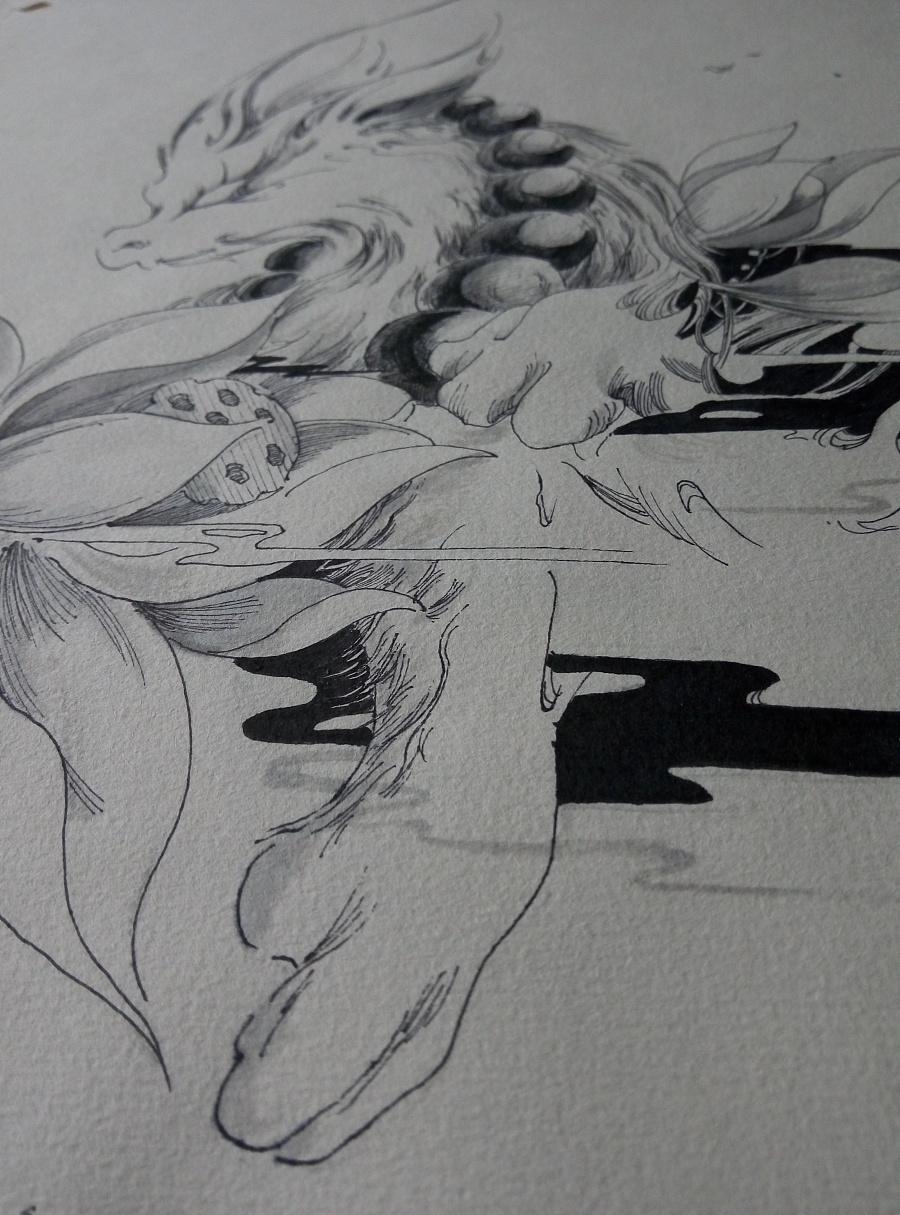 5.10(黑白画意临摹)图片