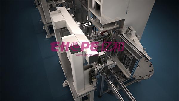 自动化装配焊接生产线工业三维动画制作|工业用品