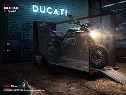[杜卡迪Ducati]创意合成海报档案