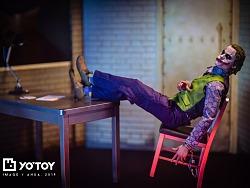【YO'玩具摄影】 Hot Toys DX11 THE JOKER 小丑2.0