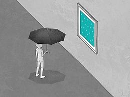 日画1120~1126 一场永不降临的雨
