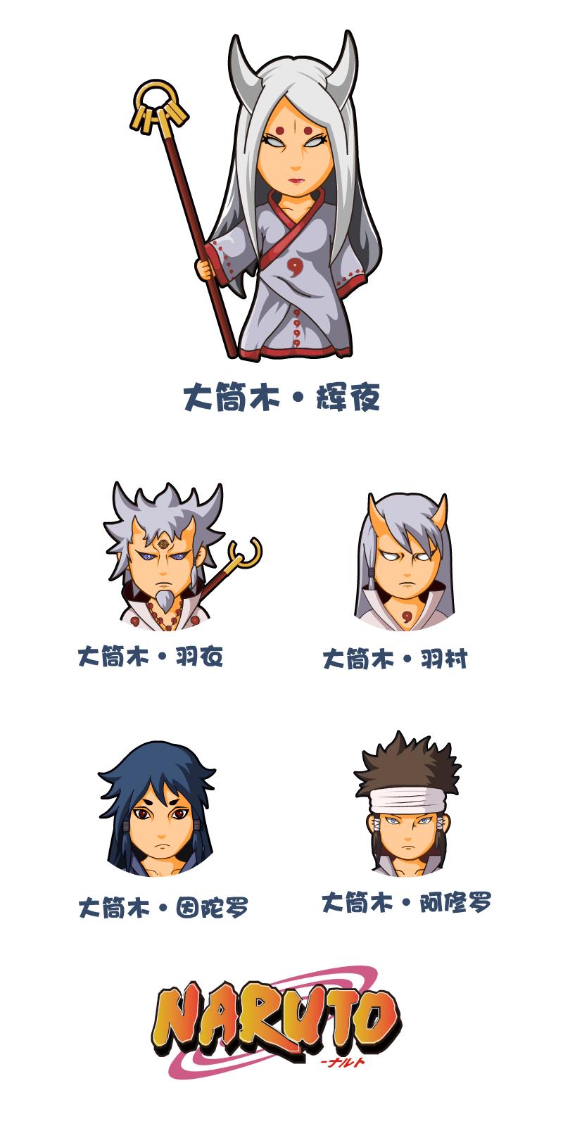火影忍者·大筒木一族 二维动画 动漫 sangemantou