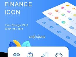 小鱼理财APP icon设计