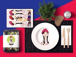 蜀香格格∣品牌形象设计