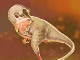 临摹一张(原图出自《恐龙梦幻国》)