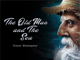 The old man and the sea封面插画设计