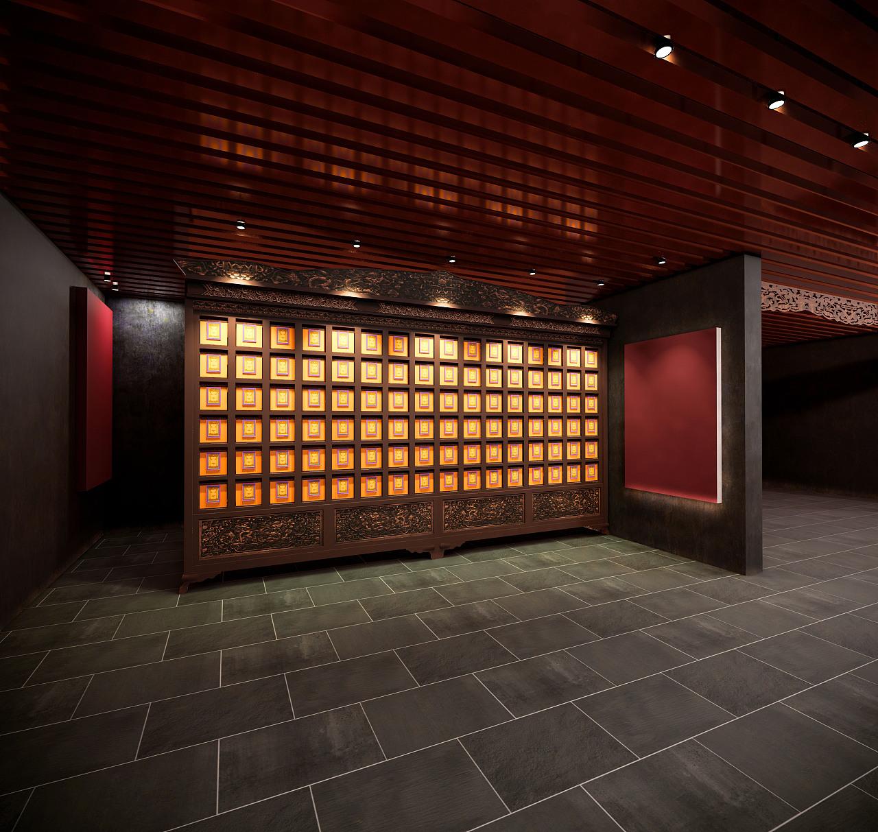 藏族民间民俗博物馆设计|空间|室内设计|周格studio图片