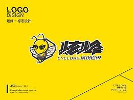 炫烽 超级电玩+缤纷世界 LOGO设计