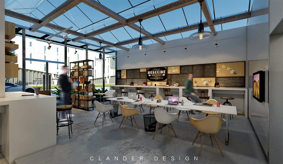 农创联盟众创空间|室内设计|空间/建筑|云道D面包作坊名片设计图片