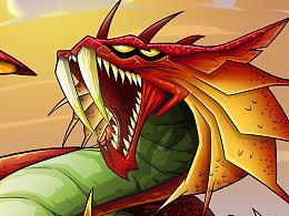 怪兽卡之:火蝎兽