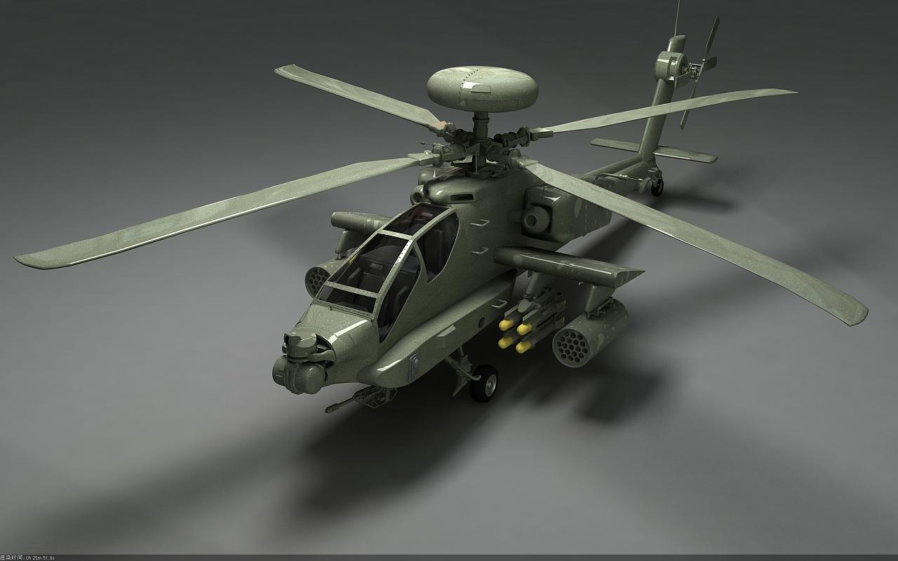 ah-64阿帕奇武装直升机