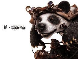 末匠丨末匠+镰田光司[Steampunk Motorbike Panda]