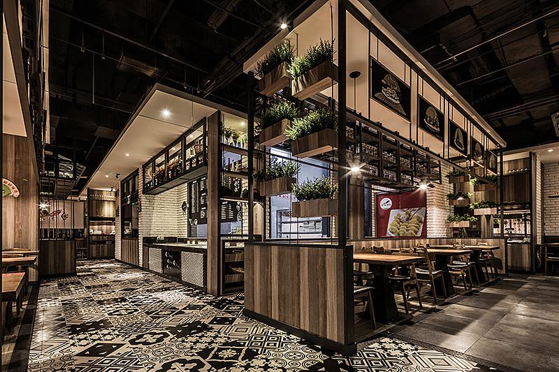 正餐店 · 餐饮空间设计_船歌鱼水饺淄博店