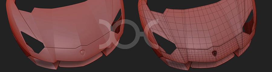 查看《3DMAX建模Lamborghini Aventador LP700-4》原图,原图尺寸:2770x740