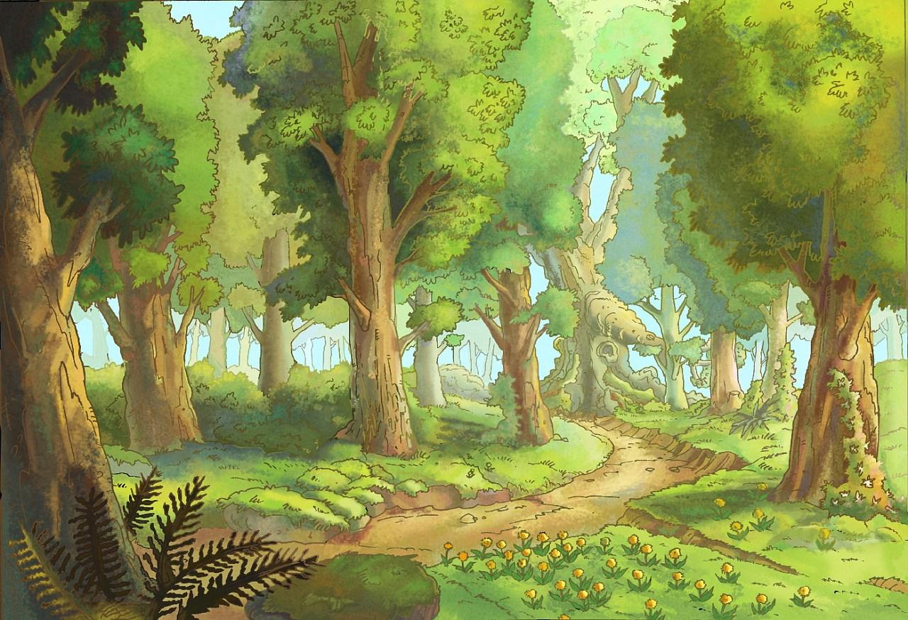壁纸 风景 森林 树 桌面 1280_874