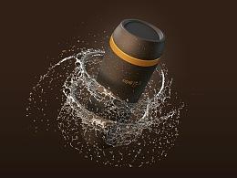 咖非随行杯丨由新型咖啡渣回收材料制成