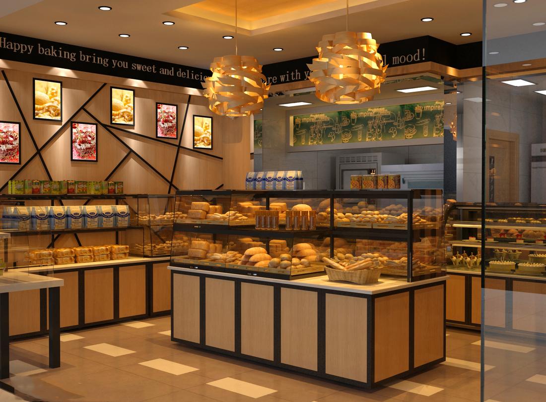 成都蛋糕店装修设计--成都金标装饰