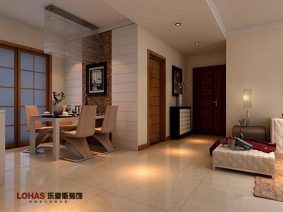 翠堤春晓春晓137平三室装修效果图|室内设计|空间|师
